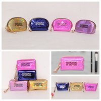 11 Colors Pink Laser Cosmetic Bag Waterproof Zipper Handbag ...