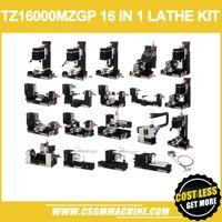 TZ16000MZGP 60W Yaylı 16 in 1 Mini torna Electriplated / 60 W, 12000 rpm Mini Yay kolu 16in1 Metal torna Makinesi