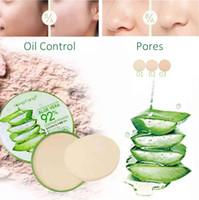 Heng fang aloe vera 92% kontur tozu yatıştırıcı nem preslenmiş toz petrol kontrolü nemlendirici doğal yüz makyaj
