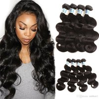 Mink 10A Brazilain Body Wave Virgin Hair Weave 4 Bundles Bra...