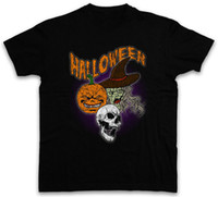 Make Tee Shirts Halloween Faces O- Neck Short Sleeve Fashion ...