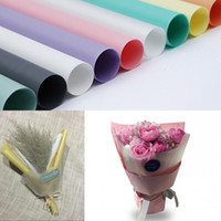 Flower Packaging Paper Superficie opaca Trasparente Materiale per l'imballaggio Carta Bouquet Fiorista Forniture Carta da regalo