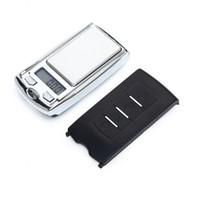 مفتاح سيارة تصميم 200G العاشر والمجوهرات 0.01g البسيطة الرقمية الالكترونية مجوهرات الماس مقياس التوازن الجيب غرام العرض LCD