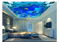 3d wallpaper custom photo ceiling mural wallpaper Fantasy Oc...