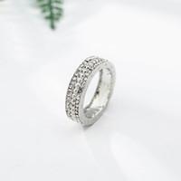 CHIELOYS 2018 Мода элегантный оригинальный посеребренные ослепительно Вечный Пан кольцо ясно CZ партия ювелирных изделий R005