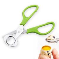 Новое прибытие мода кухня яйцо инструмент металлический Голубь перепелиным яйцом ножницы яичные резак открывалка 60шт