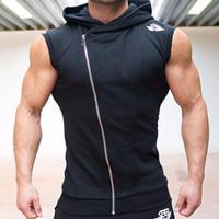 Body Engineers Hommes Coton À Capuche Sweat-shirts Fitness Vêtements Bodybuilding Été Débardeur Hommes Sans Manches T-shirts Shirt Casual Golds Gilet