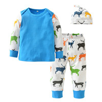 2018 Christmas Style Newborn Baby Boys Girls Clothes Long Sl...