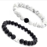 8 millimetri fatti a mano gioielli diffusore anti-fatica pietra naturale lava i braccialetti Bracciali roccia vulcanica fascino braccialetti braccialetto di preghiera perline