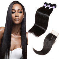 Peruvian Hair Straight Virgin Hair Weaving Deep Curly Loose ...