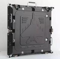 P5 RGB painel LED interior, 640X640mm gabinete de alumínio fundido sob pressão, SMD2121 ecrã LED 1/8 verificação, cor completa, levou parede vídeo