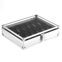 12 Grids Metal Watch Box Case Jewelry Display Collection Sto...