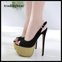 16cm glitter gold platform ultra high heel slim back pumps w...