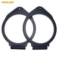 "FEELDO 2 PCS 6.5 ""Car Speaker Spacer Chifre Pad Montagens Para Buick Excelle / GT / Regal / Lacrosse Para Chevrolet / Aveo / Cruze / Trax / Malibu Para Opel # 5525"