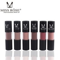 Matte Lipstick MISS ROSE Make up Lips Gloss Waterproof Moist...