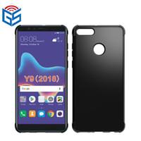 Pour Huawei Y9 2018 / Profitez de 8 Plus / Y5 (2018) / Honneur 7S Soft Couverture anti-choc TPU