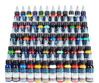 NEW ARRIVAL Tattoo Ink Fusion 60 Colors Set 1 oz 30ml Bottle...