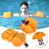 Children Band Floater Band Arm Thick Inflatable Swim Arm Rin...