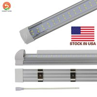 2017 NEW Double Lines Led 4ft 8ft Integrated Tube Light T8 L...