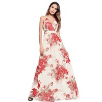 Women Long Dress Summer 2018 Elegant Boho Casual Floral Prin...