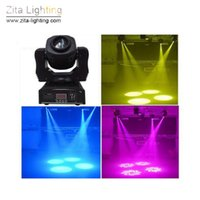 Zita Lighting LED Moving Spot Lichter 60W Moving Head Lichter Sharpy Bühne Beleuchtung waschen Strahl DMX512 Gobe DJ Disco Party Atmosphäre Wirkung