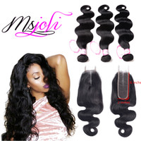 Msjoli Hair 2*6 Peruvian Body Wave Hairline Swiss Human Hair...