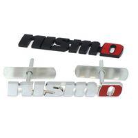 Chrom NISMO Auto Auto Aufkleber Kühlergrill Abzeichen Emblem Auto Styling Für Nissan Tiida Teana Skyline Juke X-trail Almera Qashqai