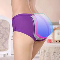 Menstruel période sous-vêtements femmes modal coton culotte dames sans soudure allonger culotte respirante lingerie physiologique femme étanche