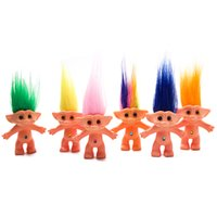 20pcs Lot Trolls Doll 10cm Troll Leprocauns Dam dolls Kids C...
