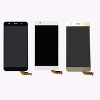 Für huawei 5,0 zoll honor 4a y6 3 farbe touchscreen digitizer sensor glas + lcd display monitor panel modul montage