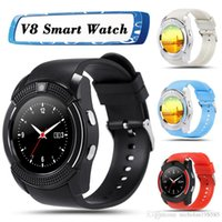 2018 Smart Watch V8 Bluetooth Smart Watches LCD Round Screen...