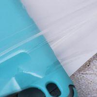 Promoção de vendas 1000 pcs 20 * 27cm Bolsa de embalagem de zíper branco reclosable poli poli zíper zíper bolsas de embalagem resealable hang buraco novo