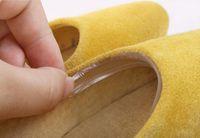 400 PC = 100 Set Sticky Shoe Back Heel Inserts Siliconen Gel Hoge Heel Inlegzolen Voetkussen Pads Grip Liner Protector Accessoires
