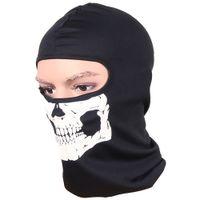 Máscaras de ciclismo mascaras Balaclava Skull Deportes al aire libre Bicicleta Bicicleta Skateboard Motocicleta Fantasma Sombrero de equitación de esquí Protege máscara de cara completa