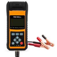 Foxwell BT-780 Auto Battery Tester 12v24v автомобильный аккумулятор анализатор с принтером проверка состояния батареи запуск системы зарядки