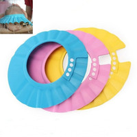 10 Pcs 1Lot Baby Kids Children Shampoo Bath Shower Cap Wash ...
