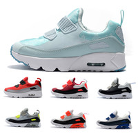 lowest price 20f4c ac877 Nike Air Max 90 2018 Infant Baby Boy Girl Kids Youth Bambini 350 scarpe  Running Scarpe