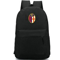 Bolonia 1909 Mochila BFC Club Daypack Team Badge Schoolbag Football Rucksack Sport School Bag School Pack de día al aire libre