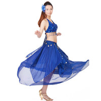 13 color Belly Dance Costume Indian Dance Dress Women Bollywood Dance Costumes for Performance Dancing Wear