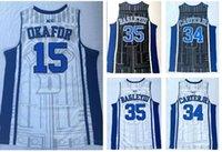 Discount Günstige Duke College 15 Gerard Okafu Marvin Bagley III 35 Wendell Carter 34 Trainer 14 Ingram 0 Tatum 1 Irving Basketball JerseyS