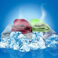 Toalha De Refrigeração Exercício Suor Esportes De Verão Gelo Fresco Toalha PVA Hypothermia sportsTowel Ficar Legal com o Hiper-Absorvente Avançado