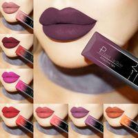 PUDAIER Wasserdicht Nude Matte Samt Glossy Lipgloss Lippenstift Lippenbalsam Sexy Red Lip Tint 21 Farben Frauen Fashion Make-Up Geschenk