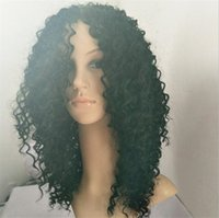Z&F Cuticle Aligned Hair African American Braided Wigs Curly...