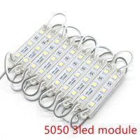 Umlight1688 SMD 5050 5054 5730 Módulos de LED impermeable IP65 módulos LED 12V CC SMD 3 LED muestra del LED retroiluminación para las letras de canal