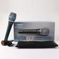 Profesyonel Microfono Beta 87 BETA87 Kablolu El Vokal Dinamik Karaoke Mikrofon Beta 87C BETA87A 87A Mic Mikrofonlar Için Kaliteli