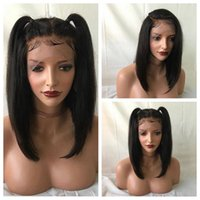 Z&F lace wigs for sale 16inch for black girls lace frontal w...