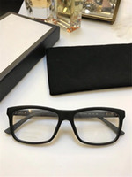 Продажа модных оптических очков квадрат простая рамка прозрачный поп-щедрый повседневный стиль прозрачный линз 1045
