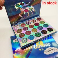 New Glamierre Glitter Eyeshadow Palette 20 Colors Makeup Shi...