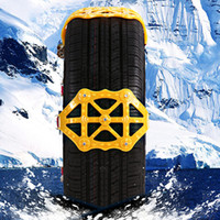 Universal Car Snow Chain Thicken Beef Tendon TPU Sandy Land ...