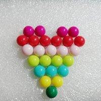Bulkpakket 1000 stks 9,0 mm Big Head Push Pins Kaart Tacks Thumb Tacks 10 kleuren